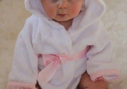 赤ちゃん用バスローブの使い方!手作りでできる作り方もご紹介!